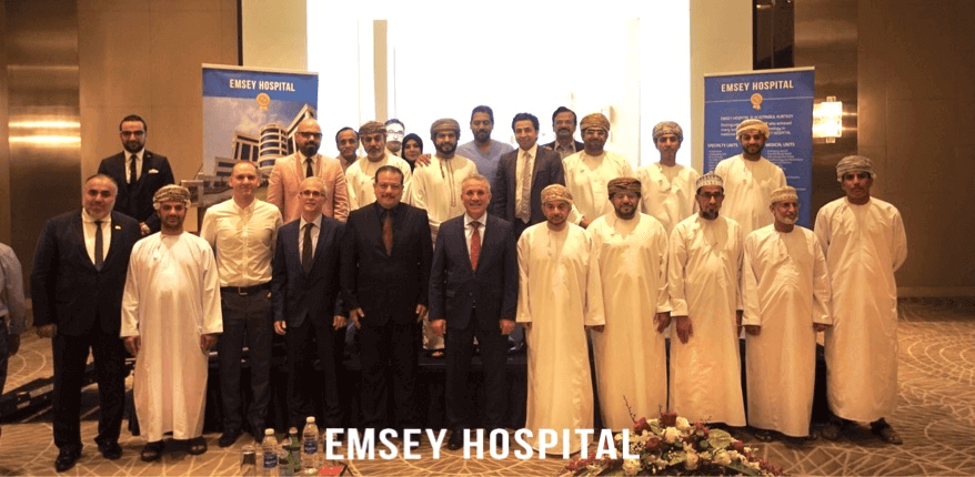 We organized launch of Emsey Hospital Oman Agency at Muscat Garden Millennium Hotel.