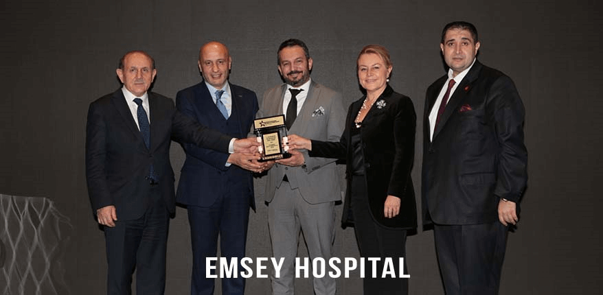 Emsey Hospital Won The Successful Health Tourism Brand of the Year Award!